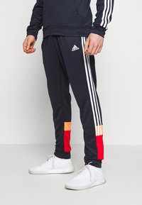 adidas Performance - 3STRIPES AEROREADY ATHLETICS SPORT TRACKSUIT - Verryttelypuku - dark blue - 3