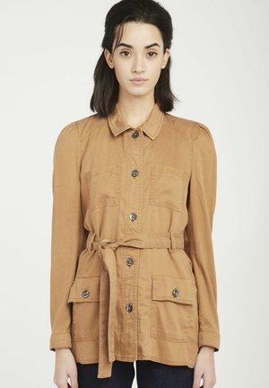 SAFARI - Summer jacket - brown