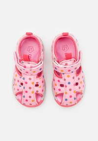 Color Kids - BABY VELDRO STRAP - Walking sandals - cotton candy - 3