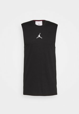 AIR TOP - T-shirt de sport - black/white