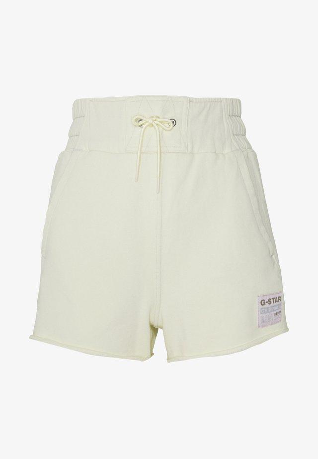 HIGH WAIST - Shorts - lumi green