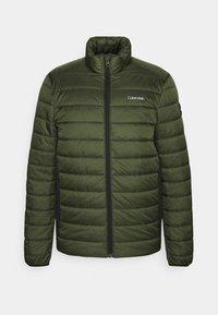 Calvin Klein - Zimní bunda - dark olive - 0