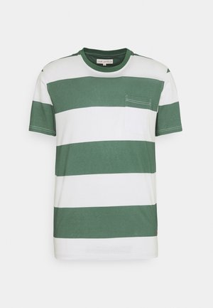 BOLD STRIPE - T-shirt print - sagebrush green