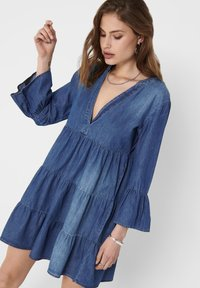 JDY - Denim dress - medium blue denim - 3