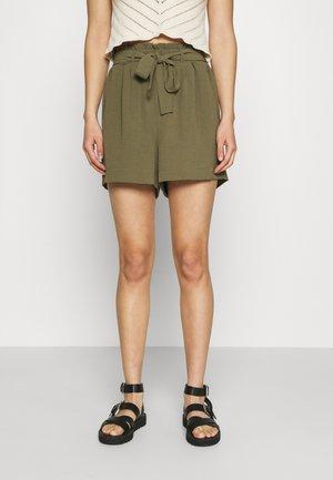 ONLLAVENDER PAPERBAG - Shorts - kalamata