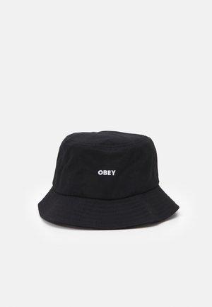 BOLD BUCKET HAT UNISEX - Mössa - black