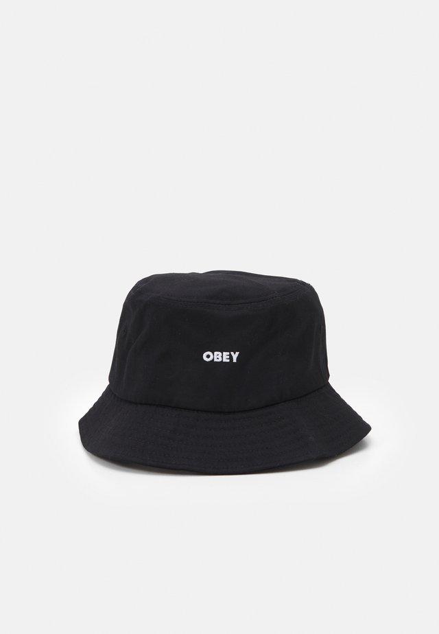BOLD BUCKET HAT UNISEX - Čepice - black