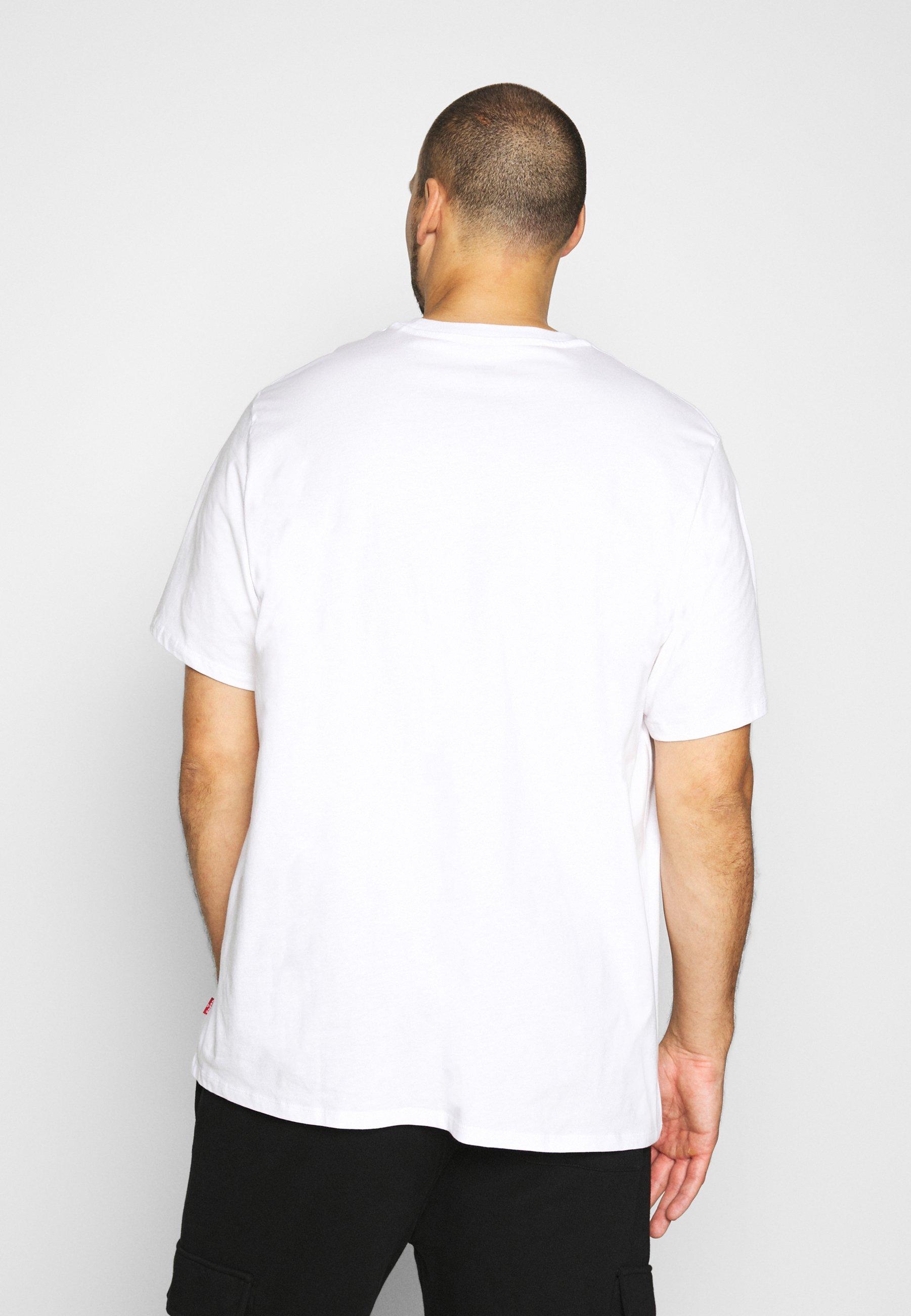 Levi's® Plus Big Graphic Tee - T-shirts Med Print White/hvit