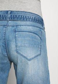 MAMALICIOUS - MLNATAL COMFY - Denim shorts - light blue denim - 3