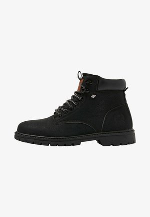 SECCO - Bottines à lacets - black