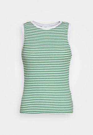 STRIPE TANK - Top - green