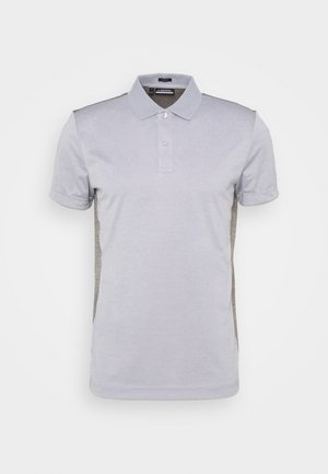 JOSH SLIM FIT GOLF  - Funktionströja - stone grey melange