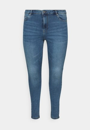 VMSOPHIA  - Jeans Skinny Fit - medium-blue denim