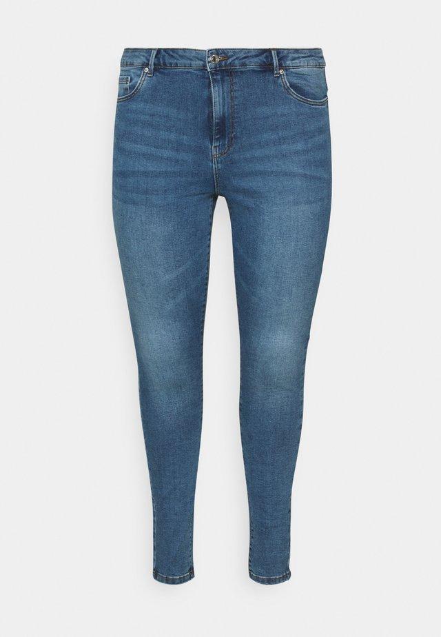 VMSOPHIA  - Jeans Skinny Fit - medium-blue denim