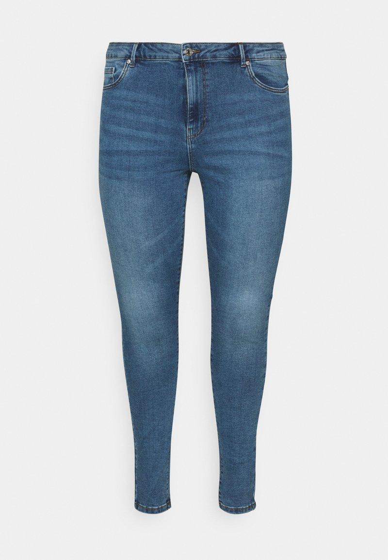Vero Moda Curve - VMSOPHIA  - Jeans Skinny Fit - medium-blue denim