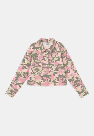 NASHA - Džínová bunda - pink
