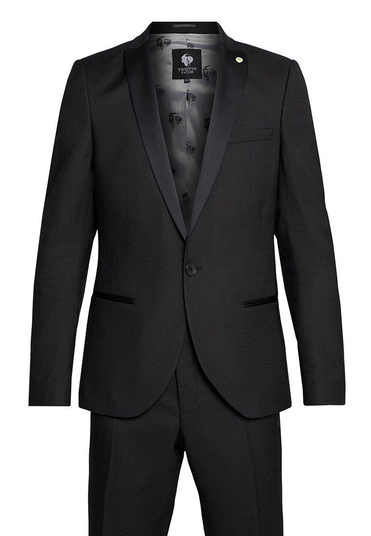 Twisted Tailor HUNTER TUX SKINNY FIT - Dress - black