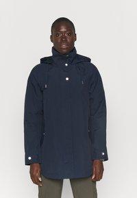 Helly Hansen - VALENTIA RAINCOAT - Hardshell jacket - navy - 0