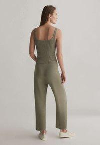 OYSHO - Trousers - khaki - 2