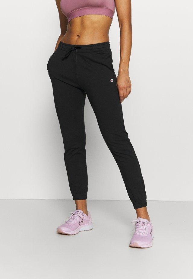 CUFF PANTS - Trainingsbroek - black