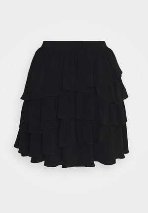 SKIRT - Minijupe - black