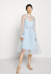 Custommade - LIDI DRESS - Robe de soirée - chambray blue - 2