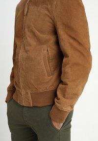 Schott - Kožená bunda - rost - 5