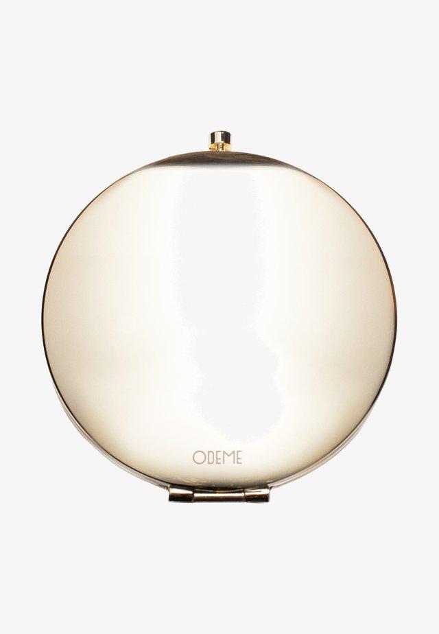 COMPACT MIRROR - Sminkspegel - gold