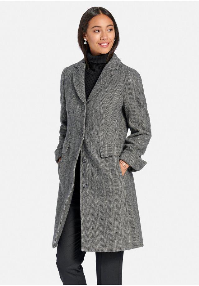 Mantel - grau/stein