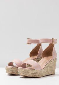 Anna Field - Sandaler med høye hæler - nude - 4