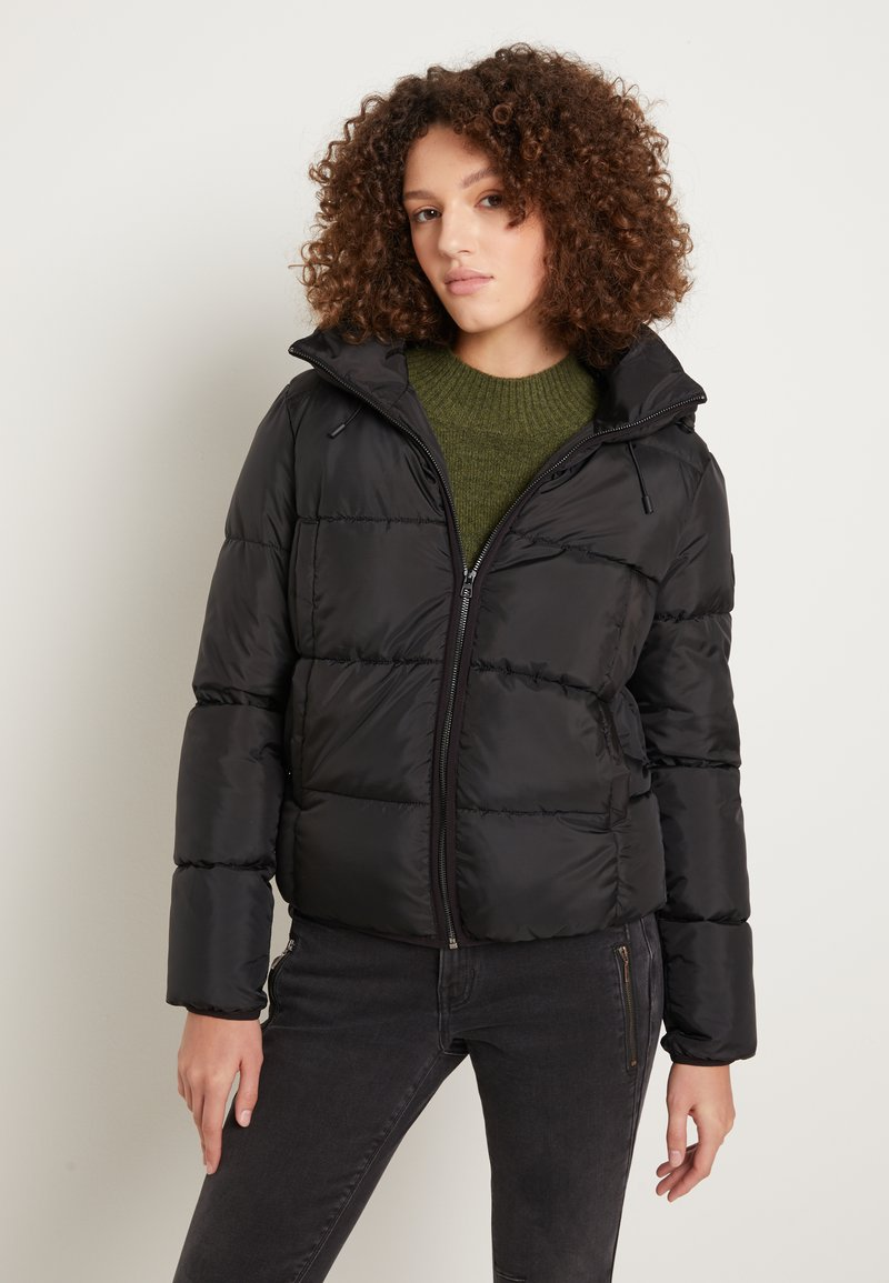 TOM TAILOR DENIM - Winter jacket - deep black