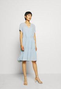Stella Nova - LING - Day dress - dusty silver blue - 1
