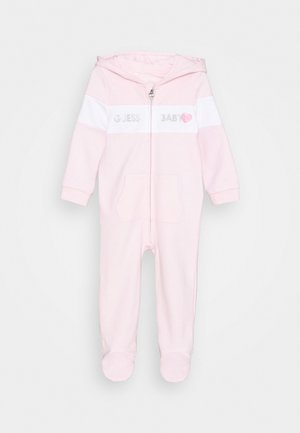 HOODED OVERALL ZIP BABY - Jumpsuit - ballerina