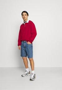 Weekday - RON RUGGER - Sweatshirt - red medium - 1