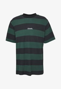 Afends - IN BLOOM RETRO FIT TEE - T-shirt print - black - 4