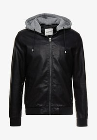 YOURTURN - Faux leather jacket - black - 5