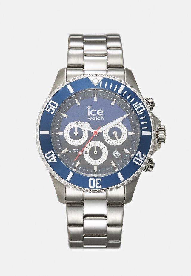 Cronografo - marine/silver