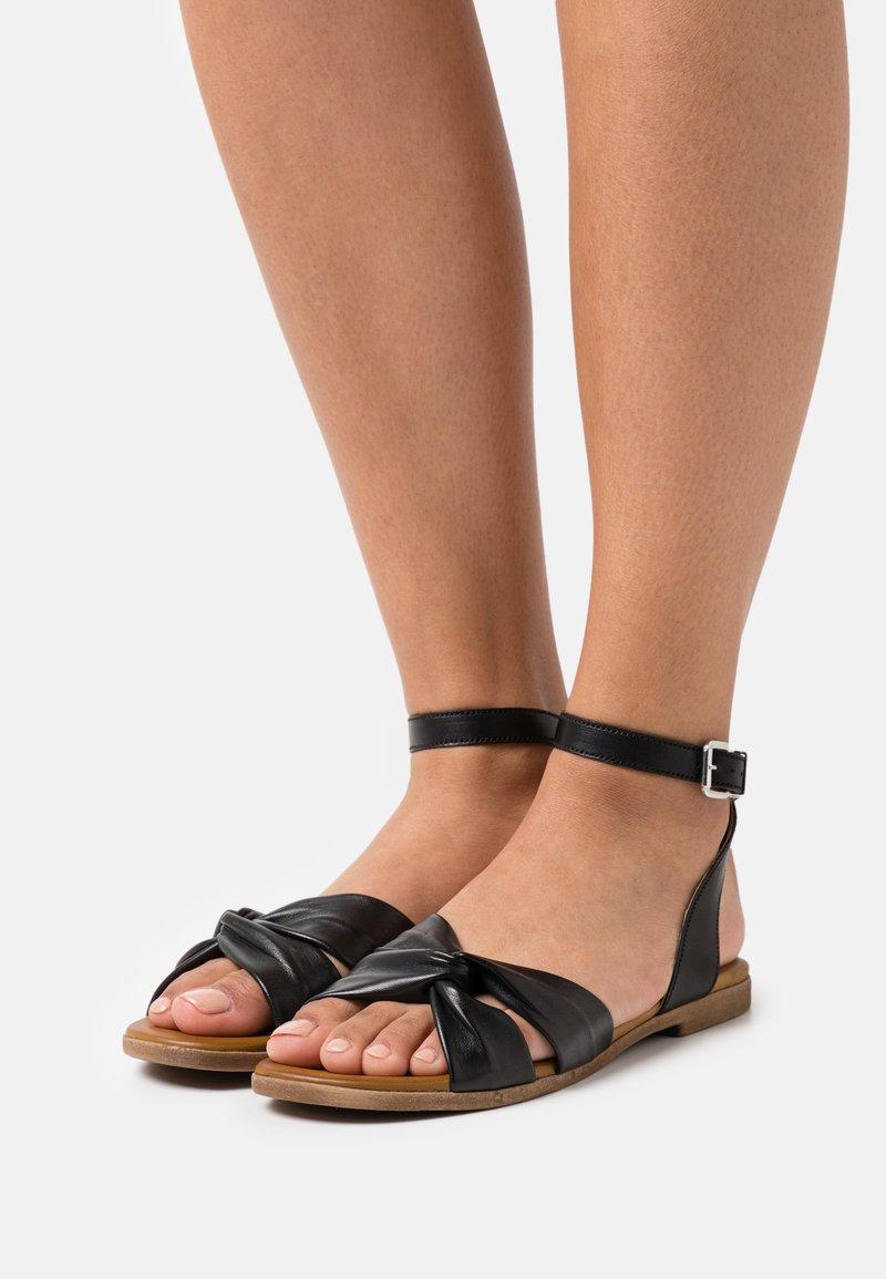 Anna Field - COMFORT LEATHER - Sandals - black