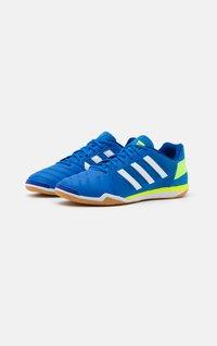 adidas Performance - TOP SALA - Indoor football boots - glory blue/footwear white/team royal blue - 1