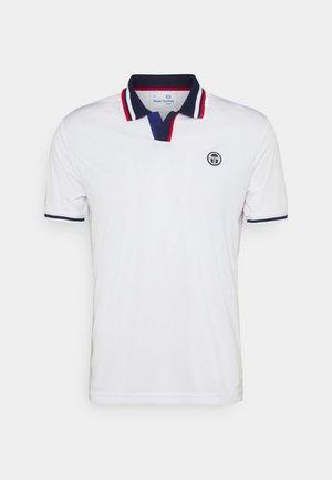 PARIS MAN - Polo shirt - blanc de blanc/blue depths