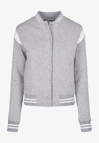 Urban Classics - Zip-up hoodie - grey white - 10