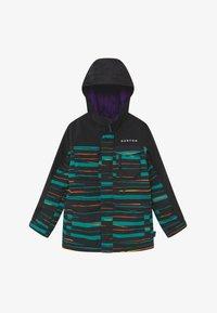 Burton - COVERT SCRIBBLE - Snowboard jacket - true black - 2