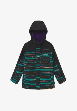 COVERT SCRIBBLE - Snowboardová bunda - true black