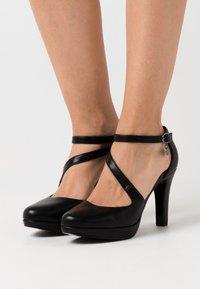 s.Oliver - High heels - black - 0