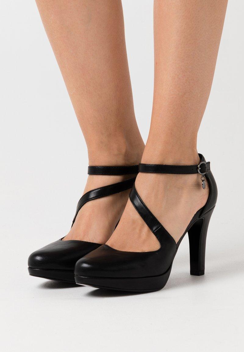 s.Oliver - High heels - black