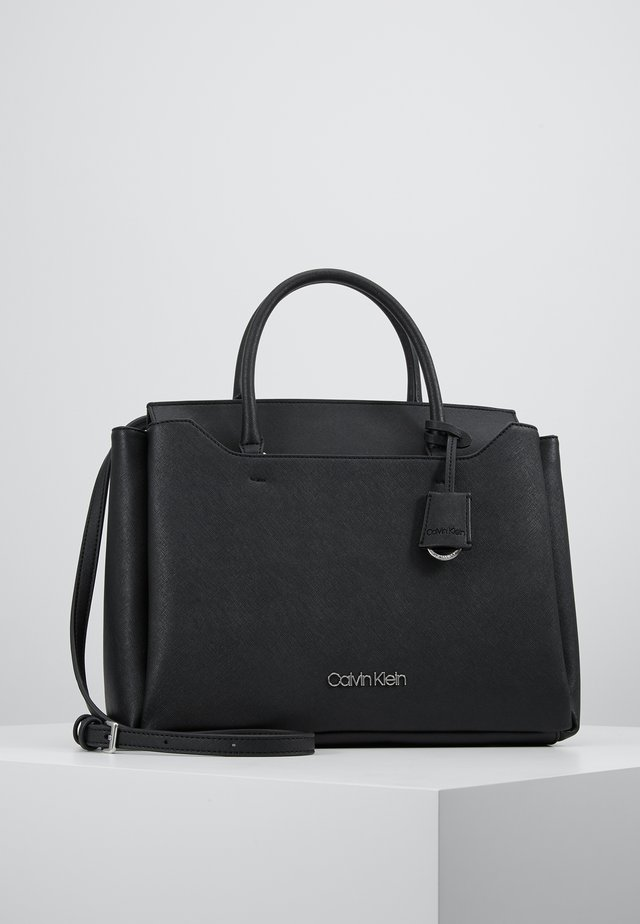 CK TASK TOTE - Sac à main - black
