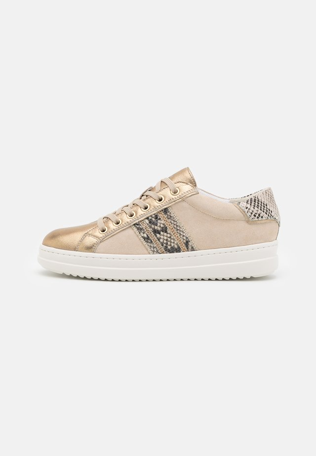 PONTOISE  - Zapatillas - beige/gold