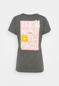 The North Face - GRAPHIC TEE - Print T-shirt - medium grey heather - 1