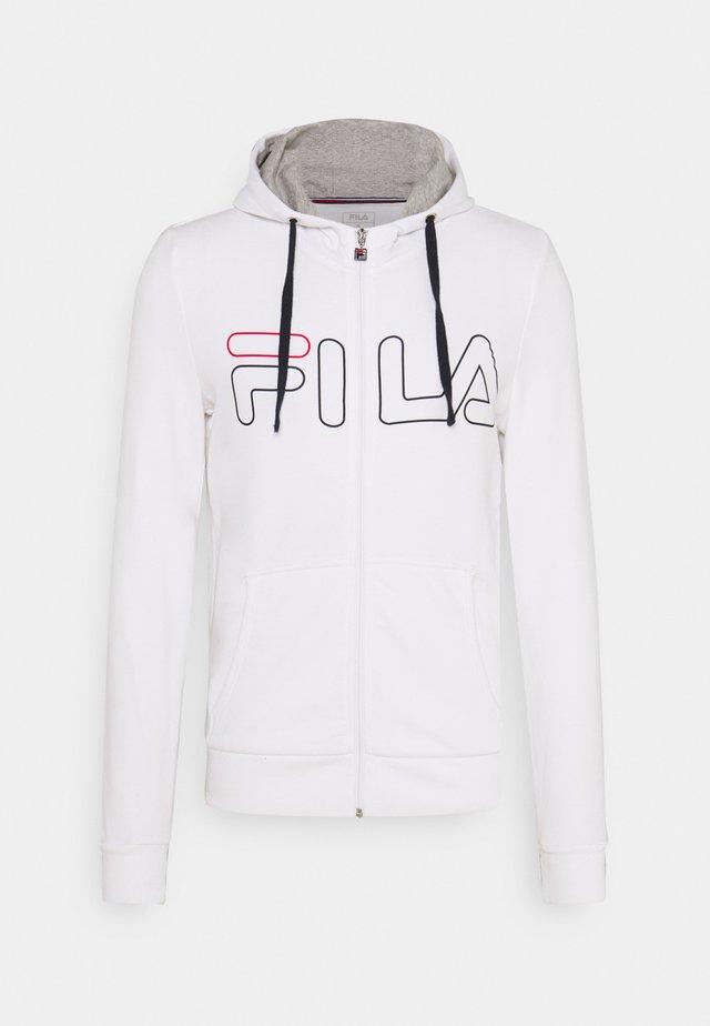 WILLI - Zip-up hoodie - white