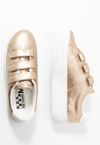 No Name - PLATO STRAPS - Trainers - gold/white - 3